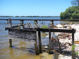 Old Oyster Farm Jetty - Bribie Island