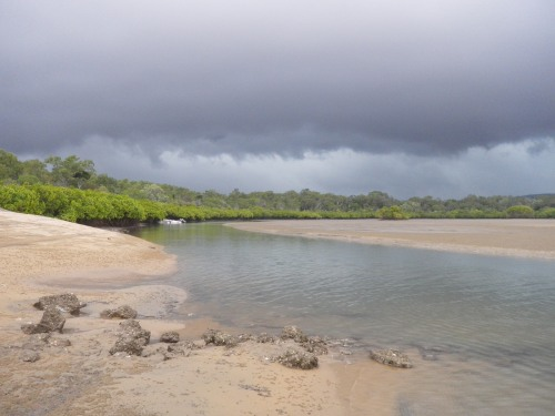 An ominous sky at Middle Creek