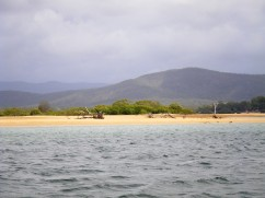 Eurimbula National Park - the mouth of Middle Creek