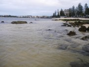 Caloundra - this is where I found the fish this morning