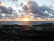 Sunrise north of Frasers Reef - Iluka