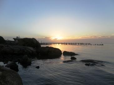 Just before dawn at Snooks Landing - SA