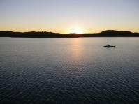 Looks like a good way to fish this shallow lake