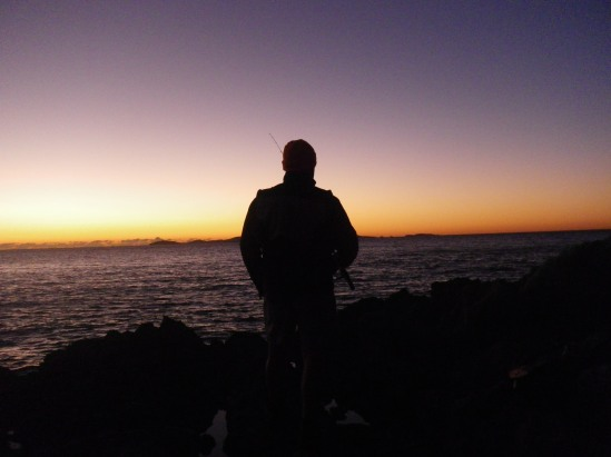 Land based fishing at yeppoon landangler 39 s blog for What is the best time to fish