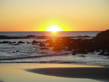 Wreck Rock sunrise