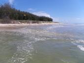 A big high tide at Skirmish Point