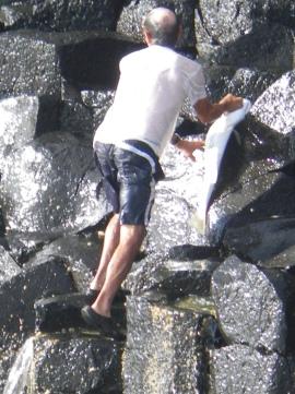 Peter gets his jewfish