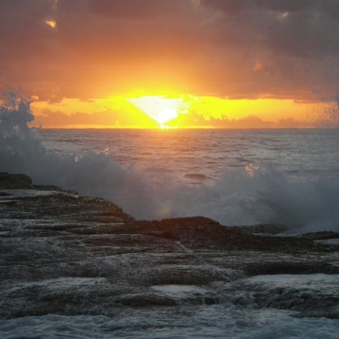 Sunrise at the Barnacles - Woody Head