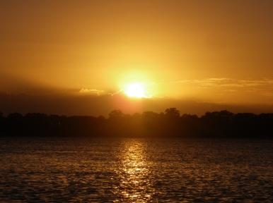 The sun is definitely back - Bribie Island