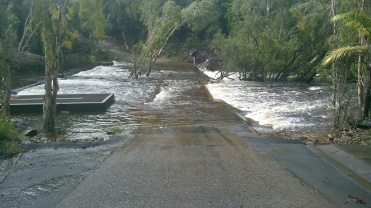 The Causeway into Byfield