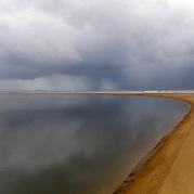 Wild weather at Eurimbula Creek