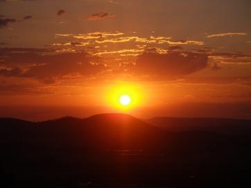 Fantastic sunset at Gayndah