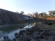 Bedford Weir wall