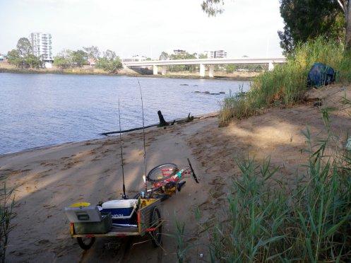 hing the Fitzroy River - Rockhampton