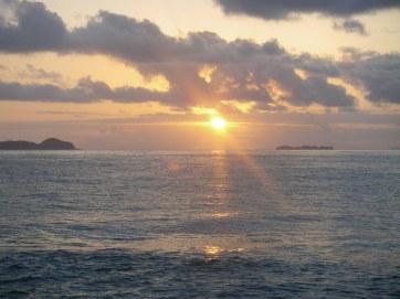 Sunrise near Emu Park