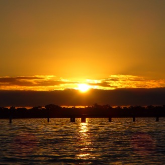 Sunrise - Monday morning