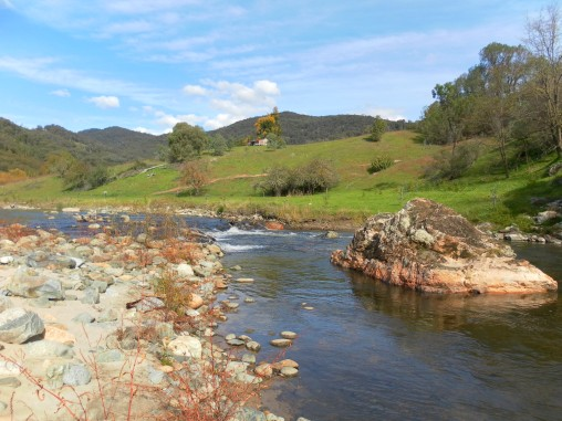 Perfect conditions at the Goobarragandra River