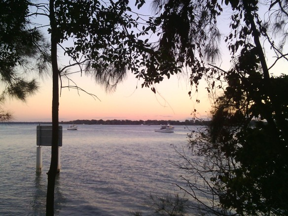 Bribie Island - just before dawb