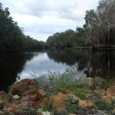 FIshing in Deepwater Creek