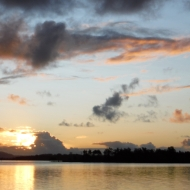 Sunset on the Clarence River
