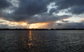 A very brief sunrise