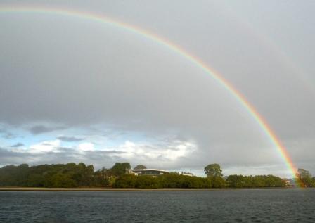 Decent rainbow