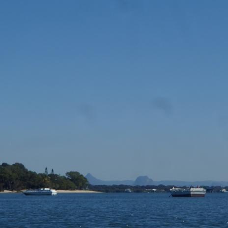 Blue skies at Bribie