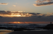 Stradbroke Island - tailor fishing at dawn