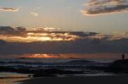 Stradbroke Island - tailor fishing at dawn