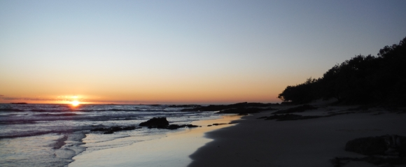 Stradbroke Island winter sunrise
