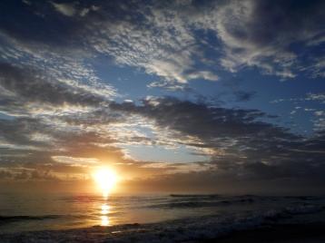 South Golden sunrise