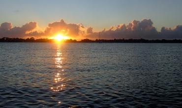 Cloudy sunrise - Bribie Island