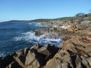 Getaway Beach rocks