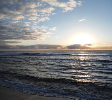 Flat Rock sunrise
