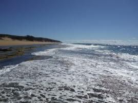 Low tide at Flat Rock