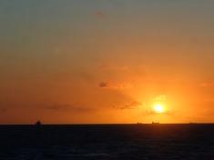 Dawn at the Mackay rockwall
