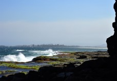Northerly winds at the Bluff