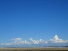 Bribie blue skies