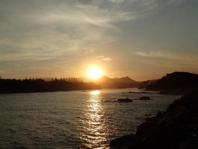 Brunswick River sunset
